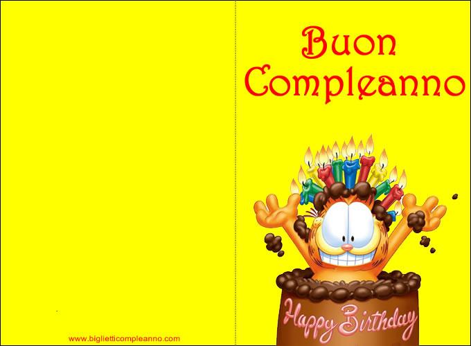 Popolare biglietti auguri compleanno - Gse.bookbinder.co YG24