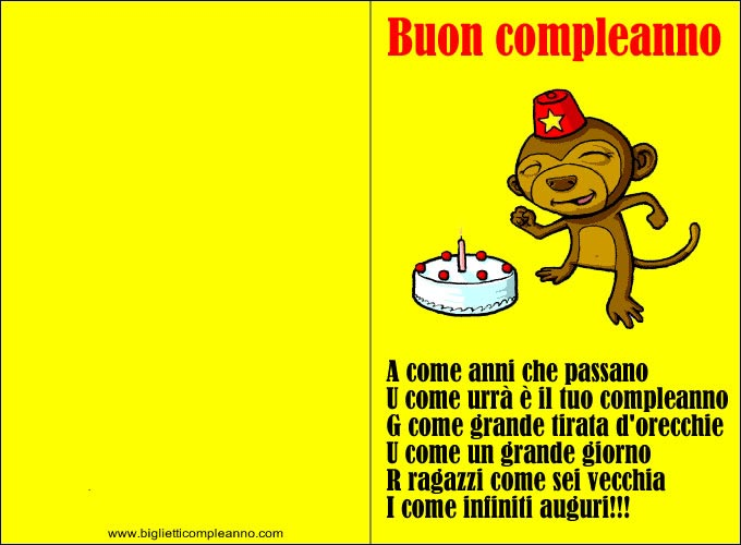 Auguri Compleanno Simpatici Betty Beard Blog