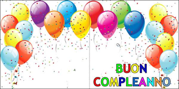 Super Biglietto Compleanno:biglietto di compleanno da stampare DF37